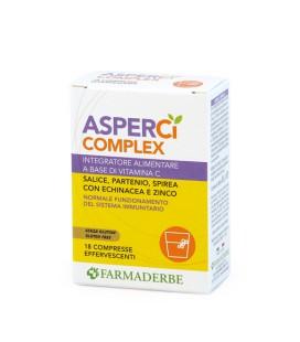 ASPER CI COMPLEX, 18 COMPRESSE EFFERVESCENTI, FARMADERBE
