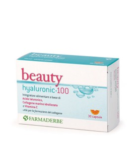 BEAUTY HYALURONIC 100 30CP FARMADERBE