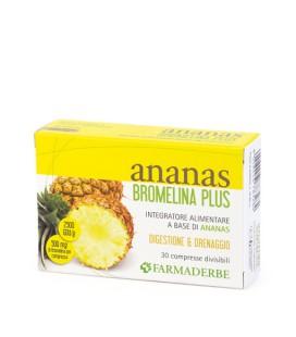 ANANAS BROMELINA PLUS 30CPS FARMADERBE