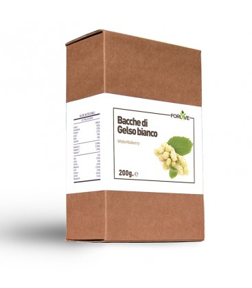 BACCHE DI GELSO BIANCO 200 GR - FORLIVE