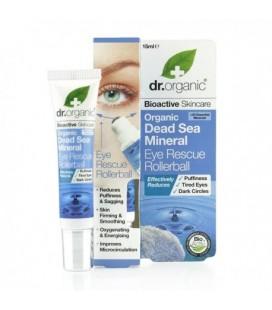 Dead Sea Mineral Eye Rescue Rollerball Contorno occhi 15 ml DR. ORGANIC