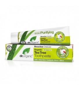 Tea Tree Toothpaste Dentifricio Tea Tree Bio100 ml DR. ORGANIC
