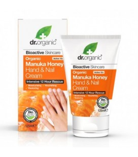 Manuka Honey Hand Cream Crema mani e unghie 125 ml DR. ORGANIC