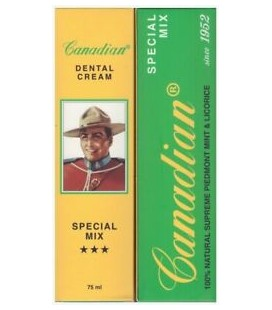 CANADIAN DENTAL CREAM SPECIAL MIX