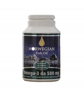 OMEGA 3 IN CAPSULE, 180 CPS DA 500 MG NORWEGIAN FISH OIL