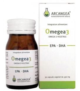 OMEGEA3 30CP 500MG INTEGRATORE A BASE DI EPA ,DHA DI ORIGINE ALGALE