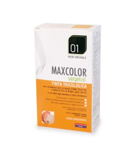 MAX COLOR VEGETAL TINTA 01 NERO NATURALE
