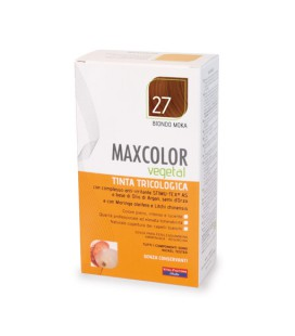 MAX COLOR VEGETAL TINTA 27 BIONDO MOKA