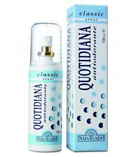 QUOTIDIANA ANTIODORANTE SPRAY CLASSIC, 100 ML
