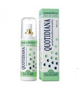 QUOTIDIANA ANTIODORANTE SPRAY SENSITIVE, 100 ML