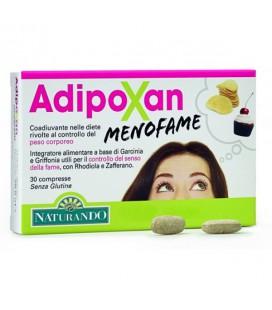 ADIPOXAN MENOFAME 30 CPR, INTEGRATORE PER IL CONTROLLO DEL SENSO DI FAME NATURANDO