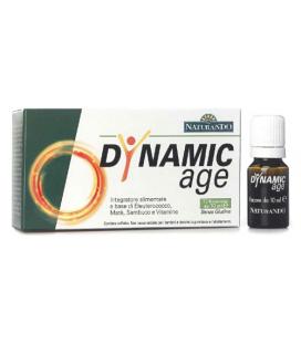 DYNAMIC AGE 10 FLACONCINI DA 10 ML, INTEGRATORE TONICO ENERGETICO NATURANDO