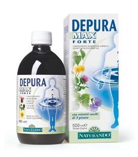 DEPURA MAX FORTE 500 ML, INTEGRATORE PER DEPURARSI