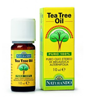 TEA TREE OIL 10 ML, OLIO ESSENZIALE DI TEA TREE, NATURANDO